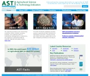 website for the  Agricultural Research and Technology Indicators (International) project