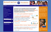 Publications section of the Bernard van Leer Foundation website