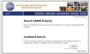 image showing the CARIS website