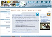 image showing the CTA Annual Seminar 2009 website